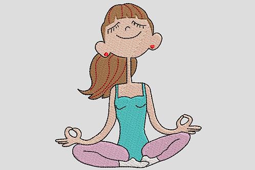 Reading Book Cushions - Yoga