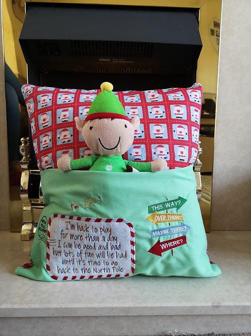 Elf Book Pillow