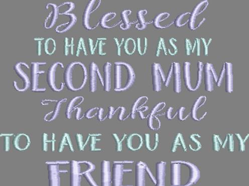 2nd Mum Friend