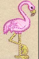 Flamingo Felt