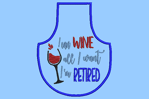 Retired Bottle Aprons - (4x4)
