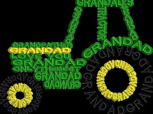 Tractor Grandad - (6x10)