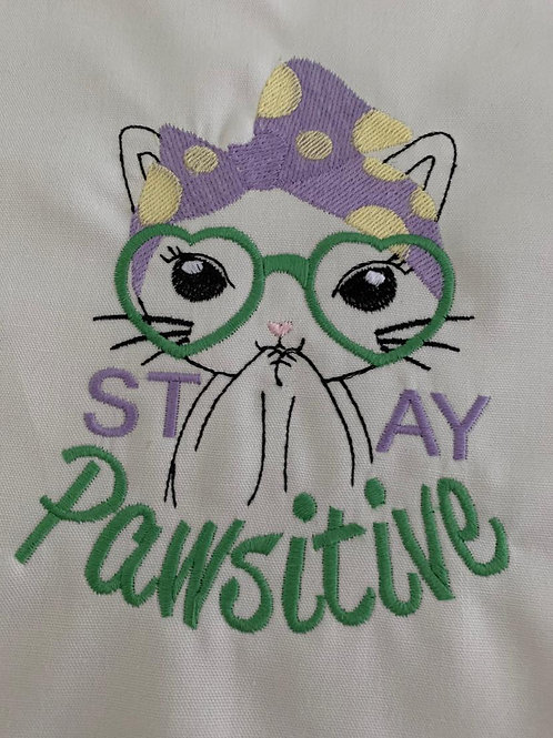 Cat Stay Pawsitive