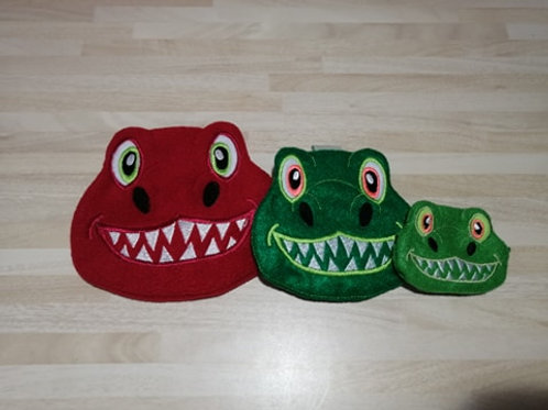 ITH Dinosaur Face Bag 4x4