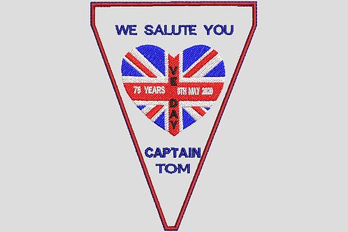 Captain Tom Bunting No1 - (5x7)