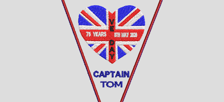 Captain Tom Bunting No1 - (5x7)