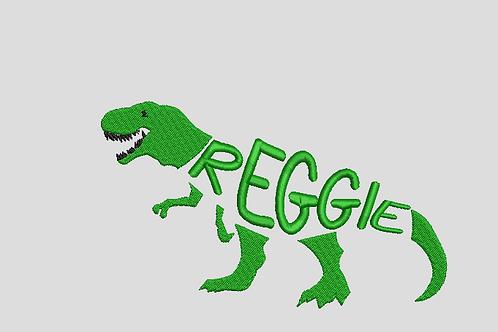 Dinosaur (With Custom Name)