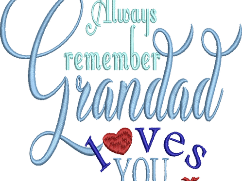 Grandad Loves You