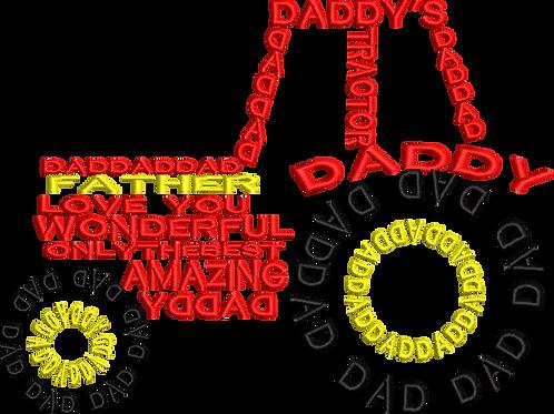 Tractor Dad - (6x10)