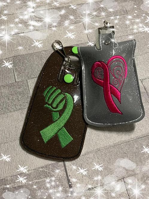 Cancer Fist Sanitiser Holder