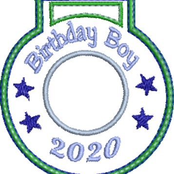 Birthday Boy Medal