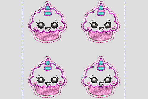 Felties Unicorn Cupcake