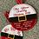 Thumbnail: Christmas Hanging Baubles 4x4 5x7 6x6 7x7