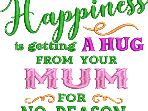 Happiness Mum