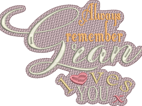 Gran Loves You