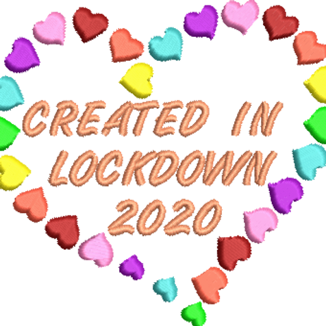 Created in Lockdown 2020 Hearts