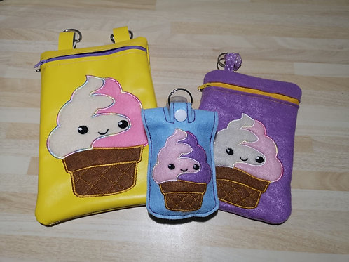 ITH IceCream Zip Pouch