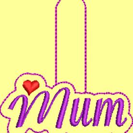 Mum Key Fob