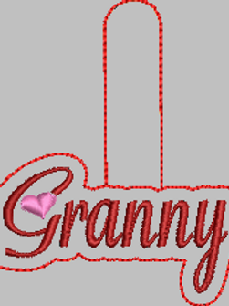 Granny Key Fob