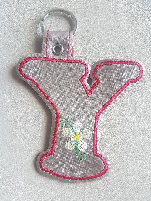 """""""Y"""" Daisy Keyfob"""