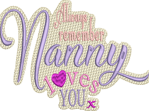 Nanny Loves You