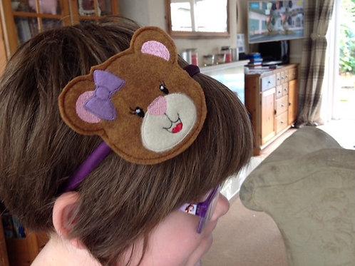Headband Sliders & Felties - Bear