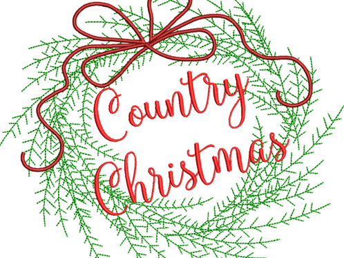 Country Christmas - (5x7)