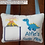 Thumbnail: Dinosaur Tooth Fairy Pillow