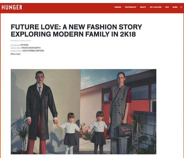Modern Family pour hunter Magazine