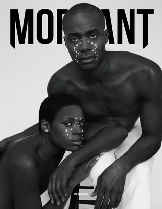 Cover for Mordant Magazine