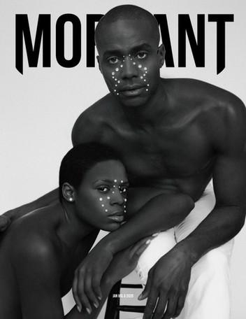 Cover for Mordant Magazine