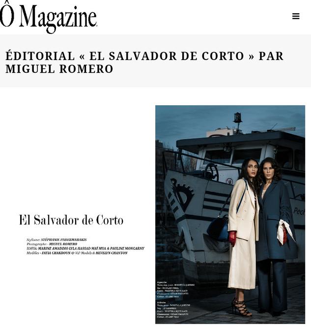El Salvador De Corto pour Ô Magazine