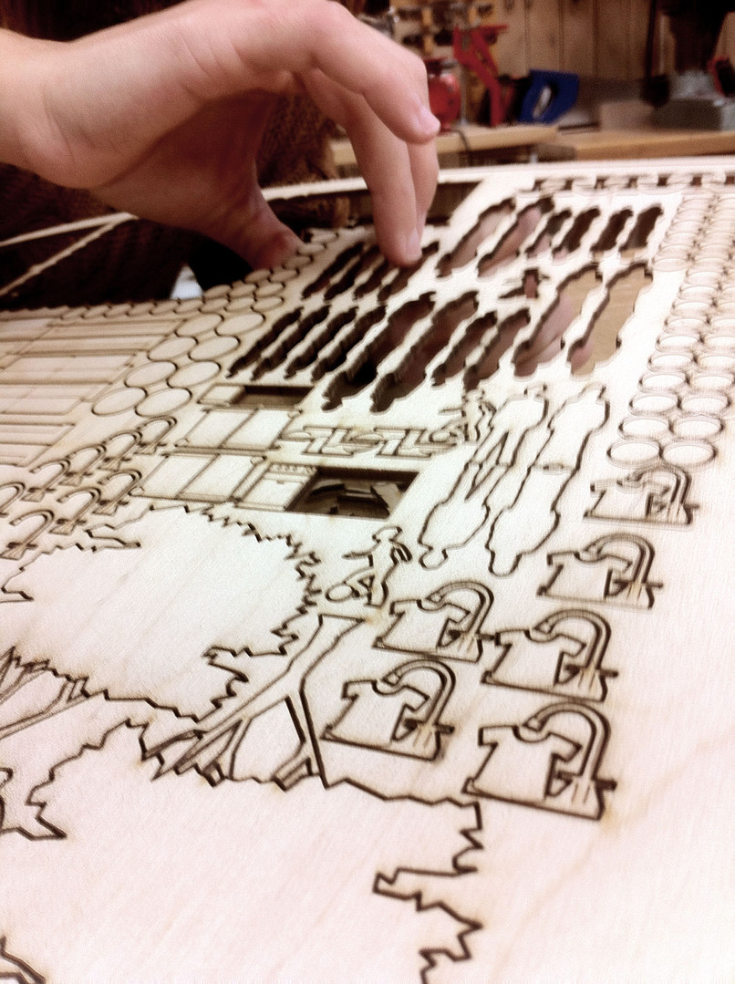 fabrication of game