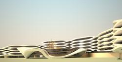 Концепция главного корпуса гостиницы