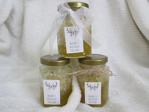 DEAD SEA SALT FOOT SCRUB