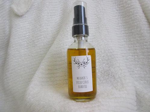 SPICED CITRUS BEARD & HAIR OIL