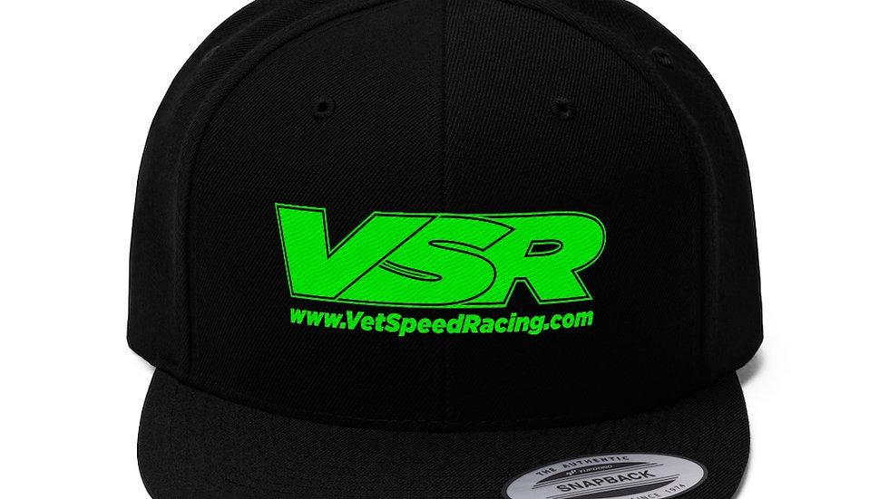 Vet Speed Racing Black Unisex Twill Hat