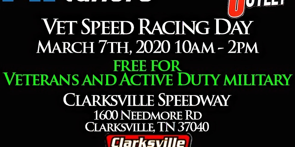 Vet Speed Racing Day at Clarksville Speedway