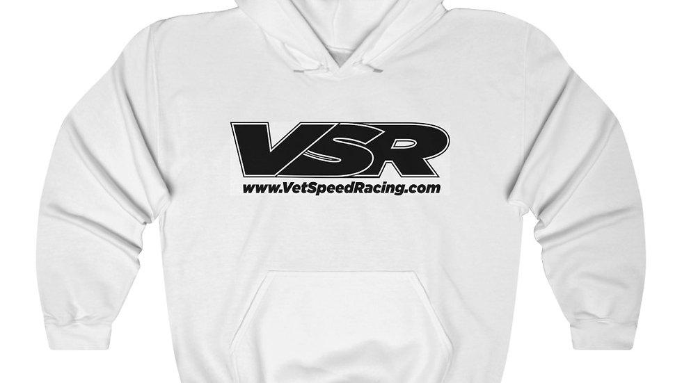 Vet Speed Racing White Unisex Heavy Blend™ Hoodie