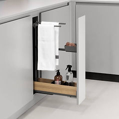 Peka Fioro base pull out with towel rail