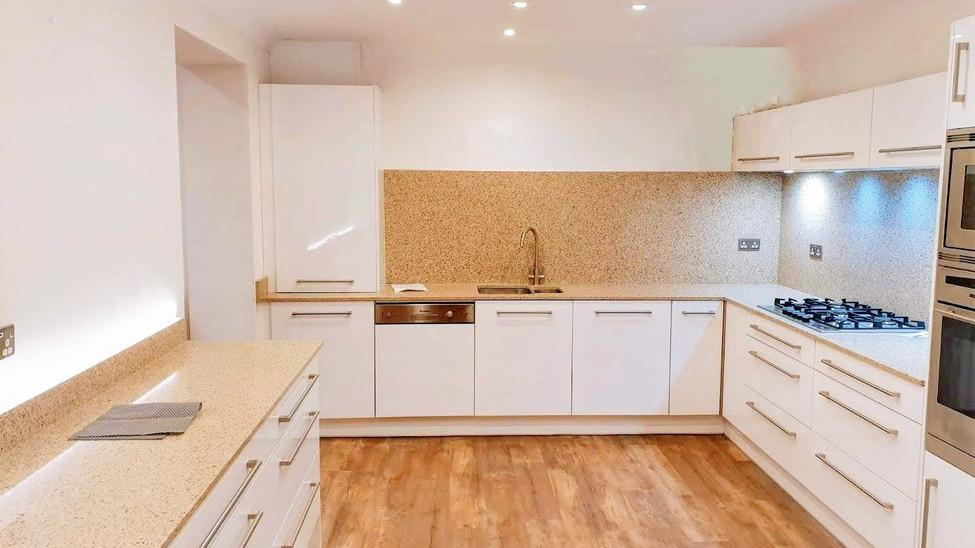Painted White Gloss Kitchen