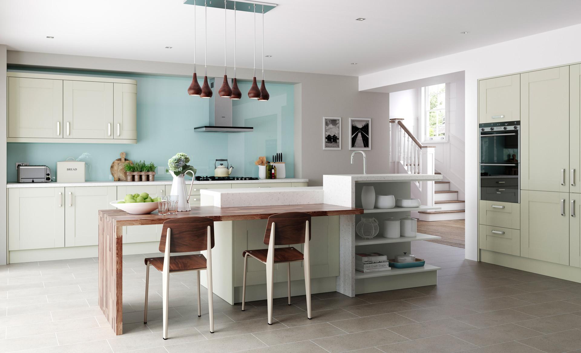Windsor shaker Mussel kitchen