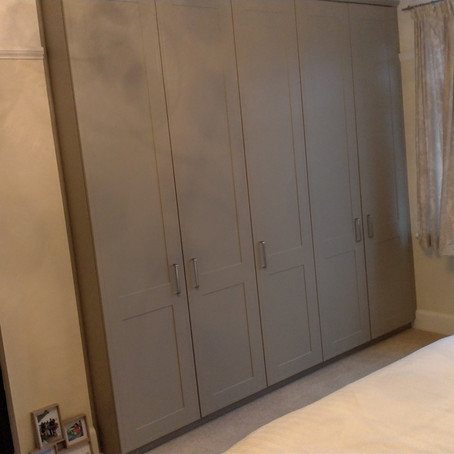 Stone grey bedroom project