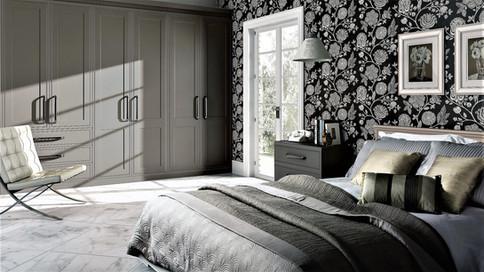 Matt Stone Grey bedroom