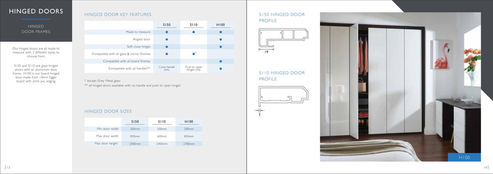 Sliding wardrobe door brochure 8