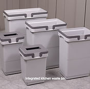 INTEGRATED WASTE BINS