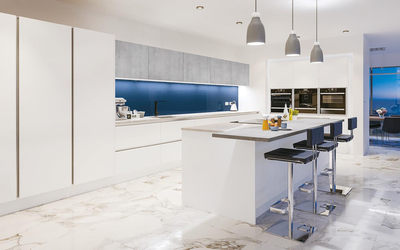 Super Matt White Kitchen