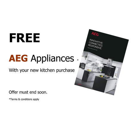 FREE AEG appliances with your new kitchen