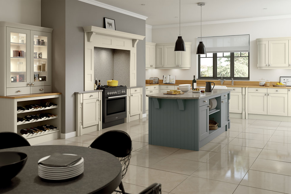 Windsor mussel and dust grey kitchen.jpg