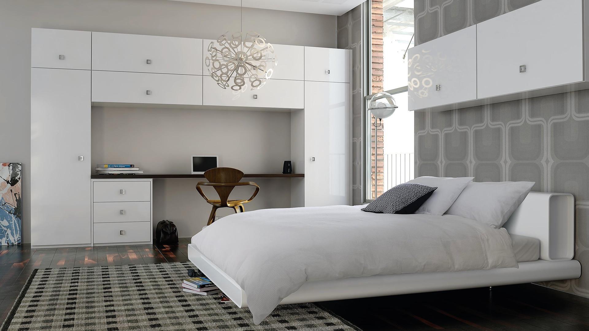 White Gloss Bedroom